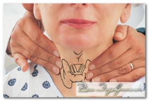 пальпация щитовидной железы врачом