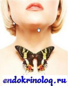 щитовидка симптомы болезней